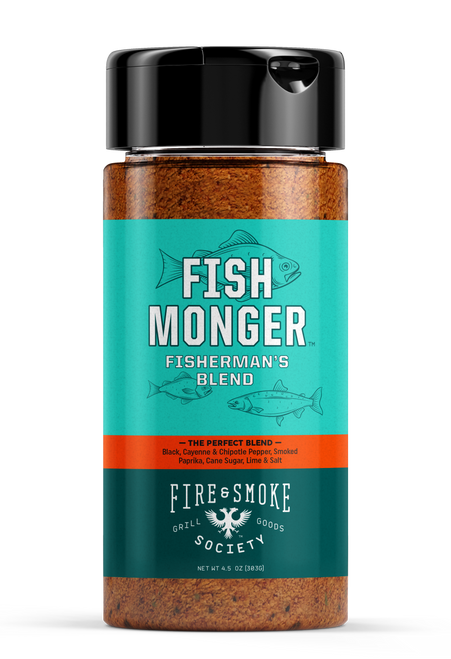 Fire & Smoke Society Fish Monger Fisherman's Seasoning Blend