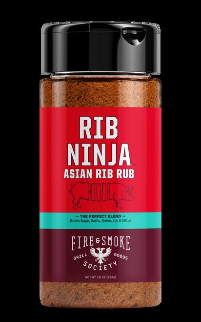 Fire & Smoke Society Rib Ninja Rib Rub Seasoning