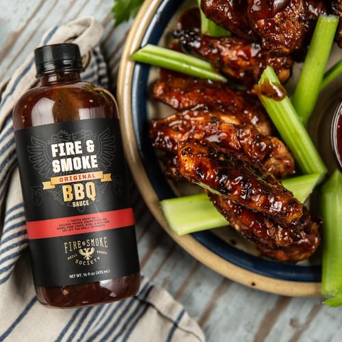Fire & Smoke Society   Original BBQ Sauce 16 oz