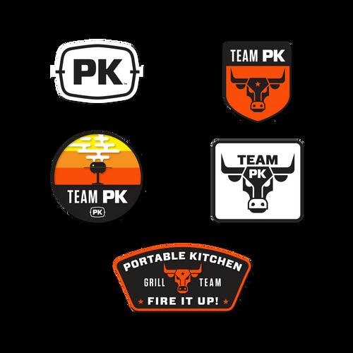 Team PK Sticker 5-Pack