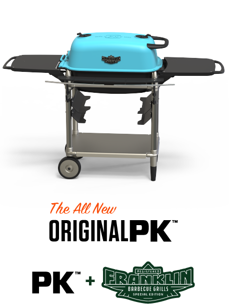 The All New Original PK300 AF Grill & Smoker - Teal