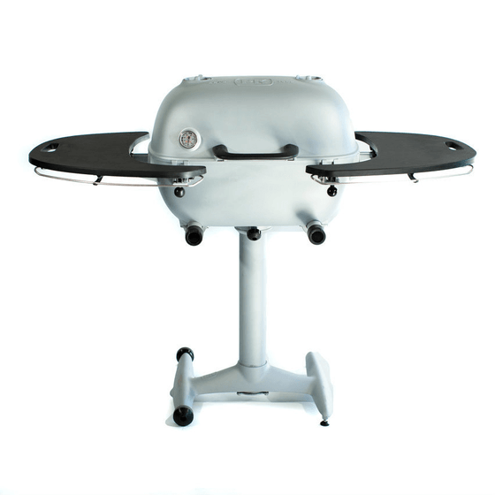 The PK360 Grill & Smoker - Classic Silver