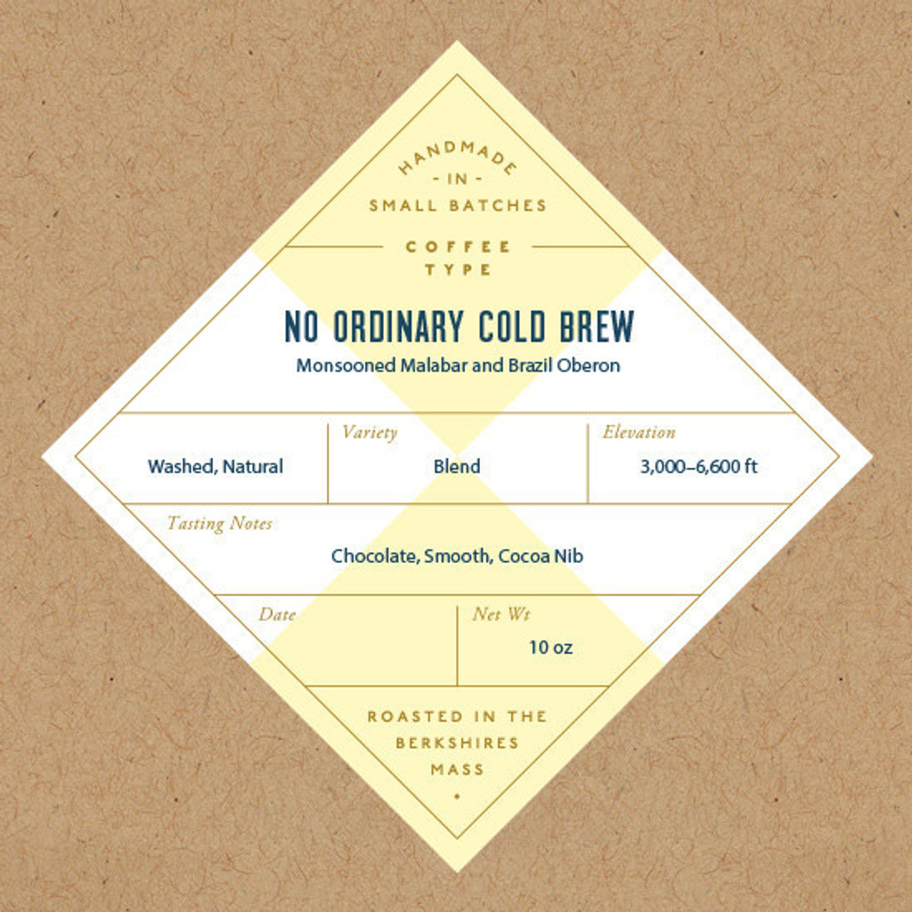 No Ordinary Cold Brew