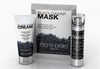 facial set with mask, moisturiser and serum contains caviar extract