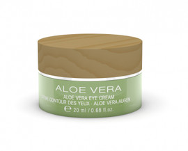 aloe vera eye cream  for dry irritated skin