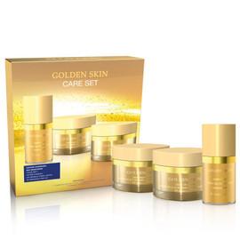 facial set with gold