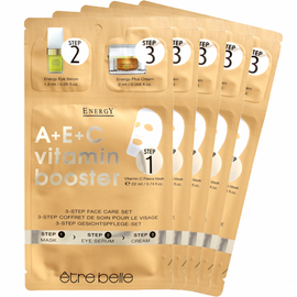 Vitamin Energy Facial Mask Set