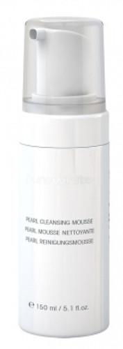 skin whitening cleansing mousse