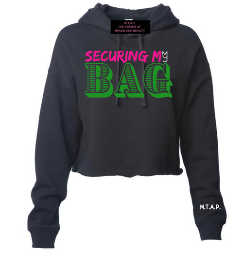 Securing My Bag Hoodie