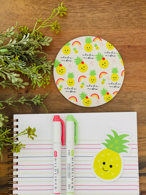 Fabric Coaster: Aloha Vibes
