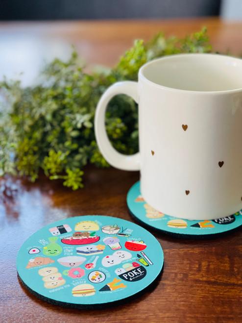 Fabric Coaster: Global Grinds