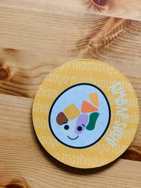 Fabric Coaster: Kimbap