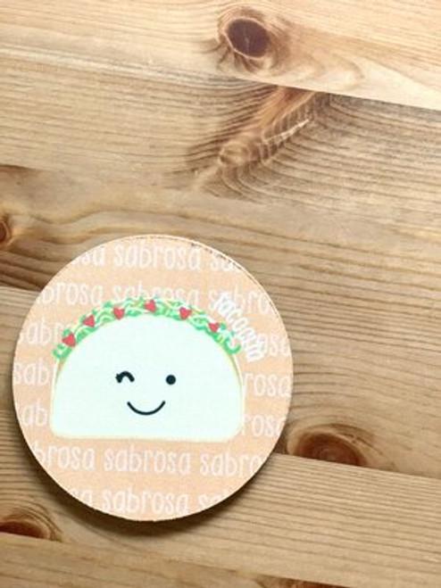 Fabric Coaster: Tacocita