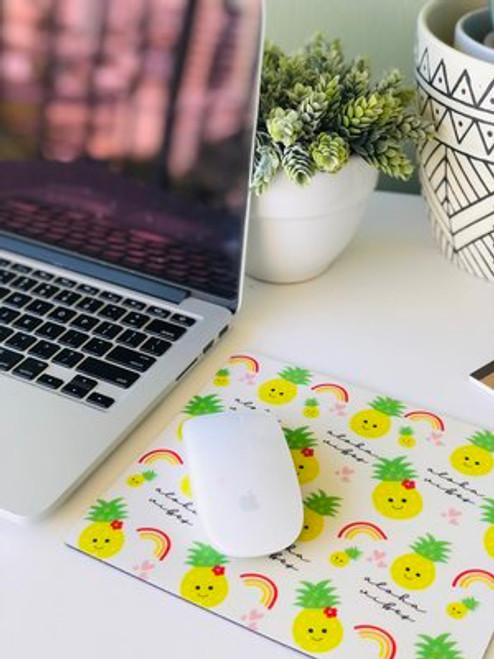 Plastic Mousepad: Aloha Vibes