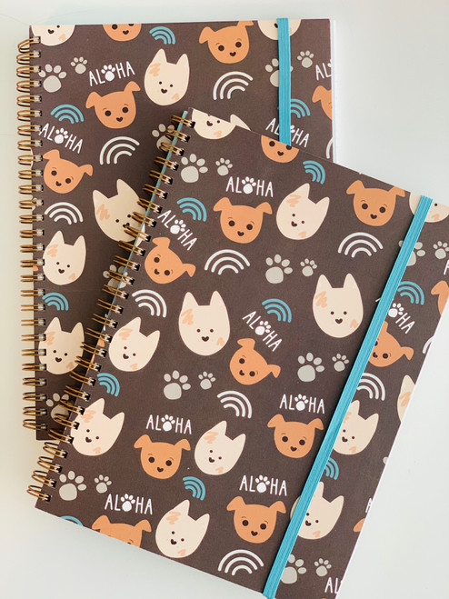 Spiral Notebook: Bear and Noodle