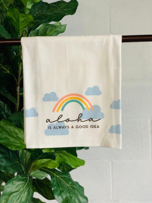 Dish Towel: Aloha Is Always A Good Idea