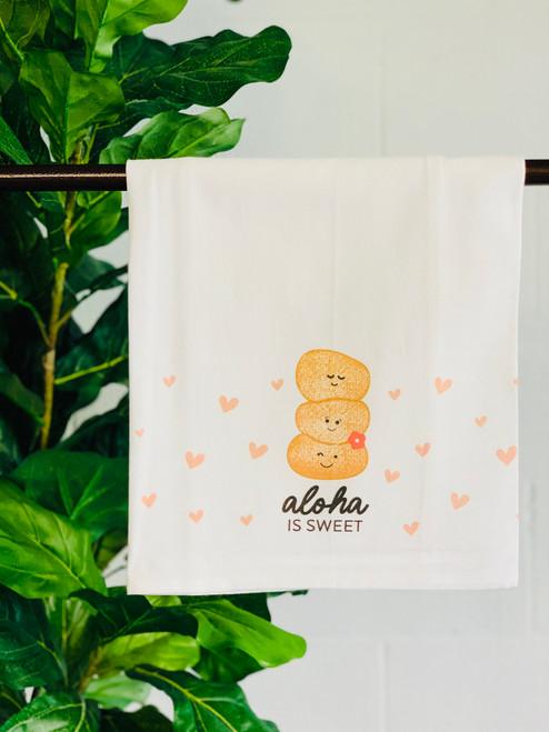 Dish Towel: Aloha Is Sweet