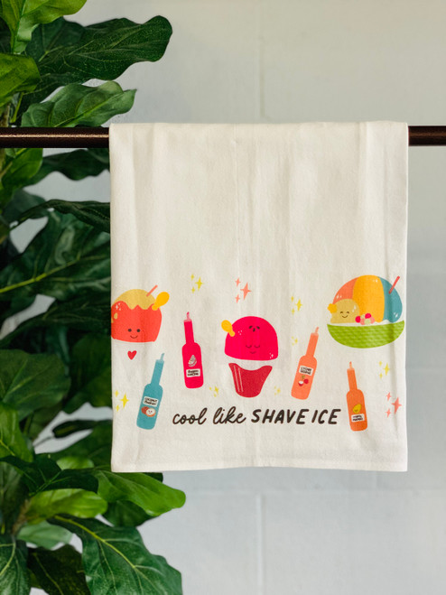Dish Towel: Cool Like Shave Ice