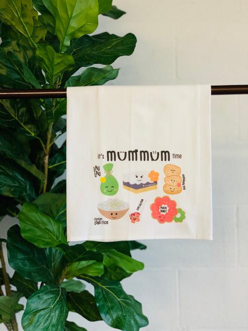 Dish Towel: Mum Mum Time