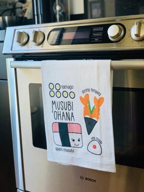 Dish Towel: Musubi Ohana