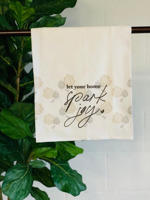 Dish Towel: Spark Joy (Warehouse Blooms)