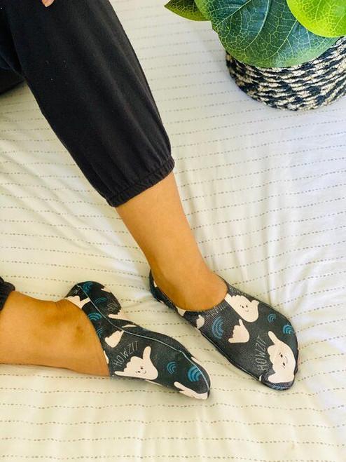 Liner Socks: Howzit Shaka