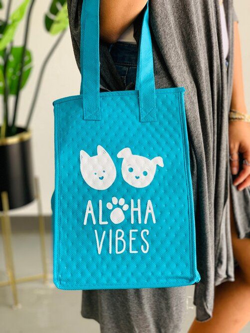 Therm-O Lunch Bag: Aloha Vibes Bear and Noodle Teal