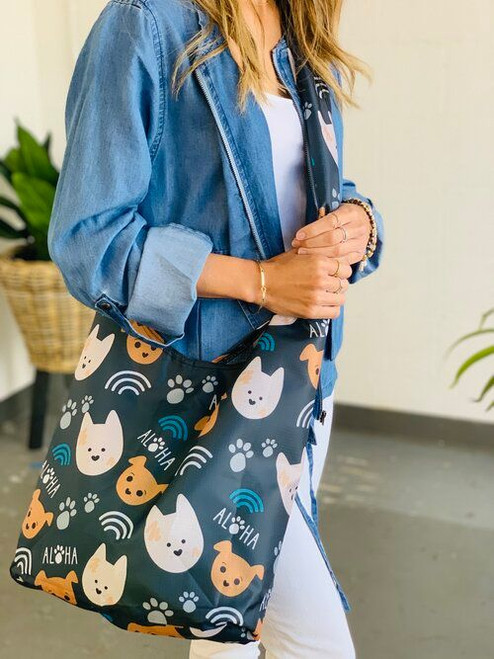 Crossbody Bag: Bear and Noodle