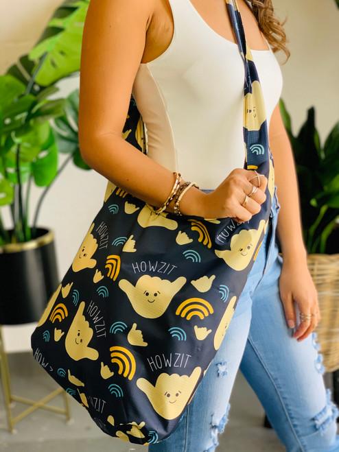 Crossbody Bag: Howzit Shaka