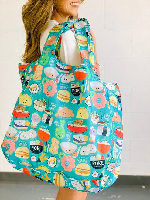 Large Tote: Global Grinds