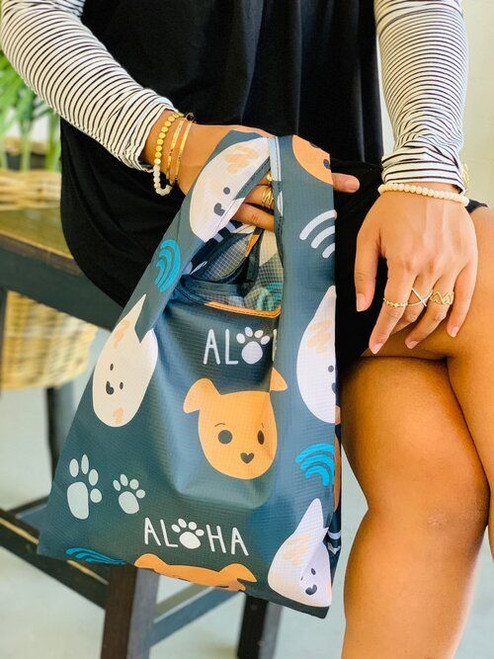 Small Tote: Bear and Noodle