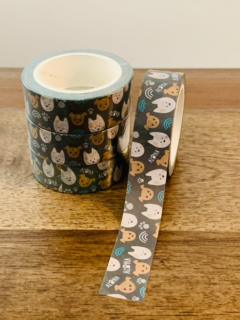 Washi Tape: Bear and Noodle