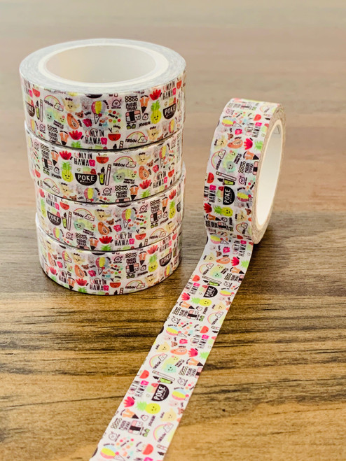 Washi Tape: Heart of Eden Icons