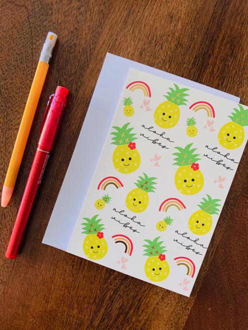 Greeting Card: Aloha Vibes