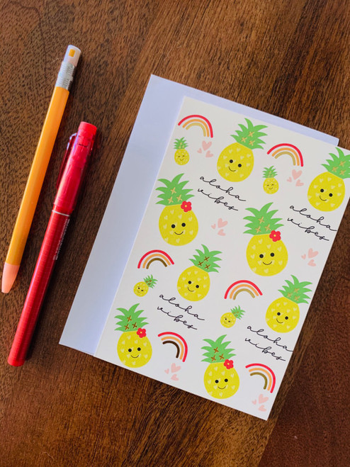 Greeting Card: Aloha Vibes