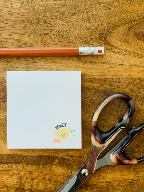 Post It Pad (50 Sheets): Howzit Shaka