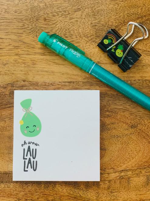 Post It Pad (50 Sheets): Oh Wow Lau Lau