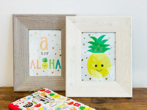 Art Print: A is For Aloha