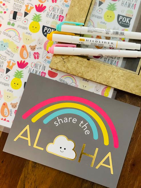 Art Print: Share The Aloha