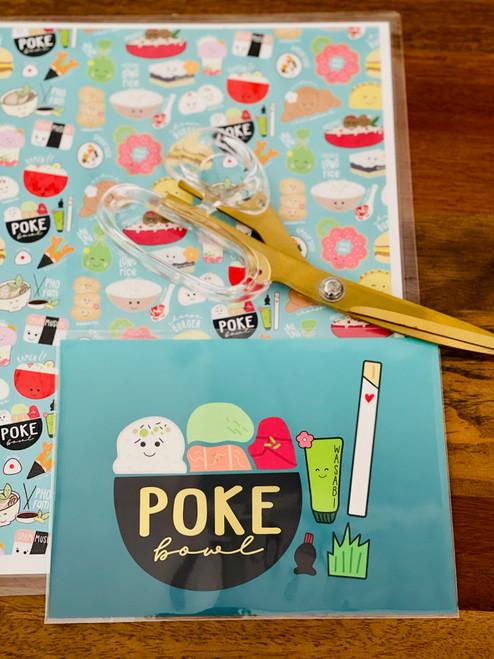 Art Print: Poke Bowl