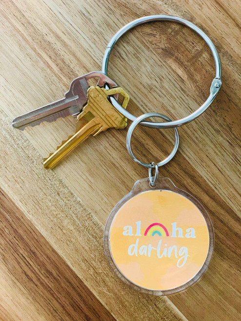Keychain: Aloha Darling