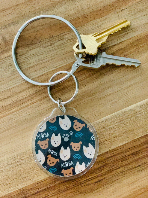 Keychain: Bear and Noodle
