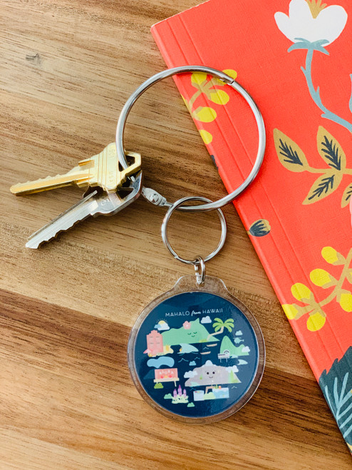 Keychain: Mahalo From Hawaii
