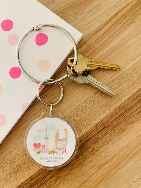 Keychain: Mahalo Korea