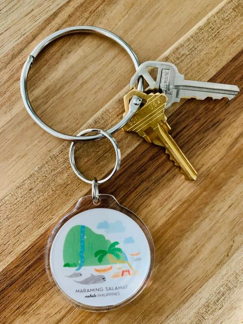 Keychain: Mahalo Philippines