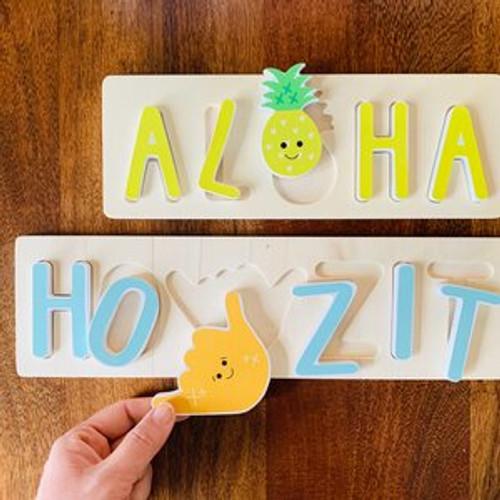 Wood Puzzle: Howzit Shaka