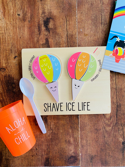 Wood Puzzle: Shave Ice