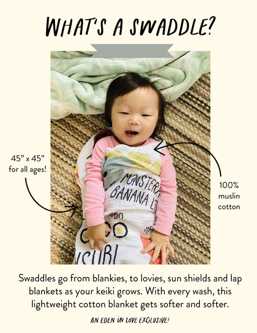 Swaddle: Bear and Noodle