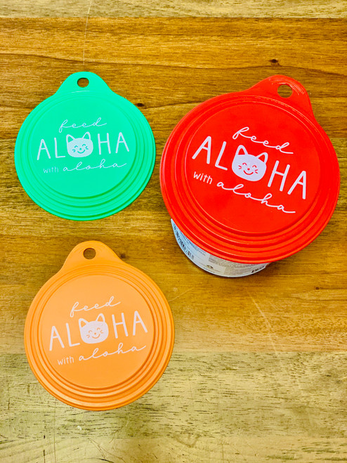Feed Aloha Neko Can Cover: Red