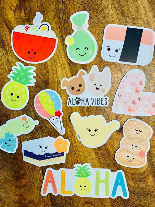 Sticker: Be The Aloha Heart